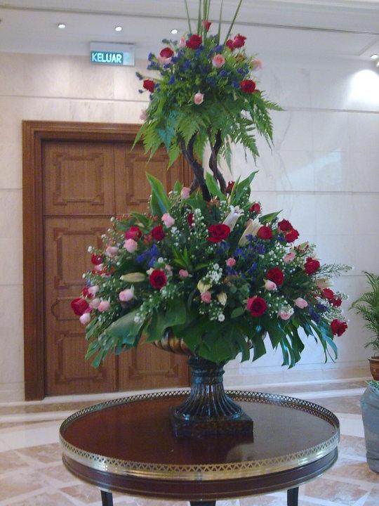 The Persada Laman Rasmi Gubahan Bunga Dekorasi Bunga Untuk Lobi Dan Ruang Bangunan Bilik Pejabat Serta Untuk Majlis Rasmi Kerajaan Korporat