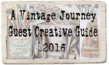 Thrilled to be A Vintage Journey Guest Creative Guide December 2016