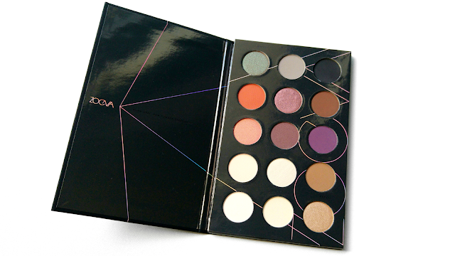Zoeva Spectrum Collection Review, The Zoeva Spectrum Collection Is Out Of This World, Zoeva Warm Spectrum Eyeshadow Palette