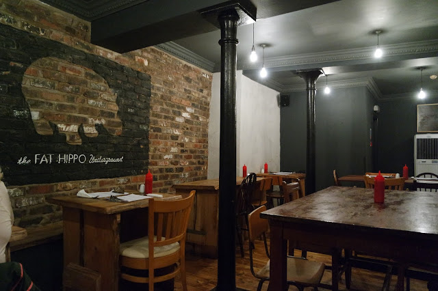 Fat Hippo Underground Newcastle Burger Restaurant North East Review