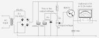 Circuit panel: HANDY 0 12V DC POWER SUPPLY ELECTRONIC DIAGRAM