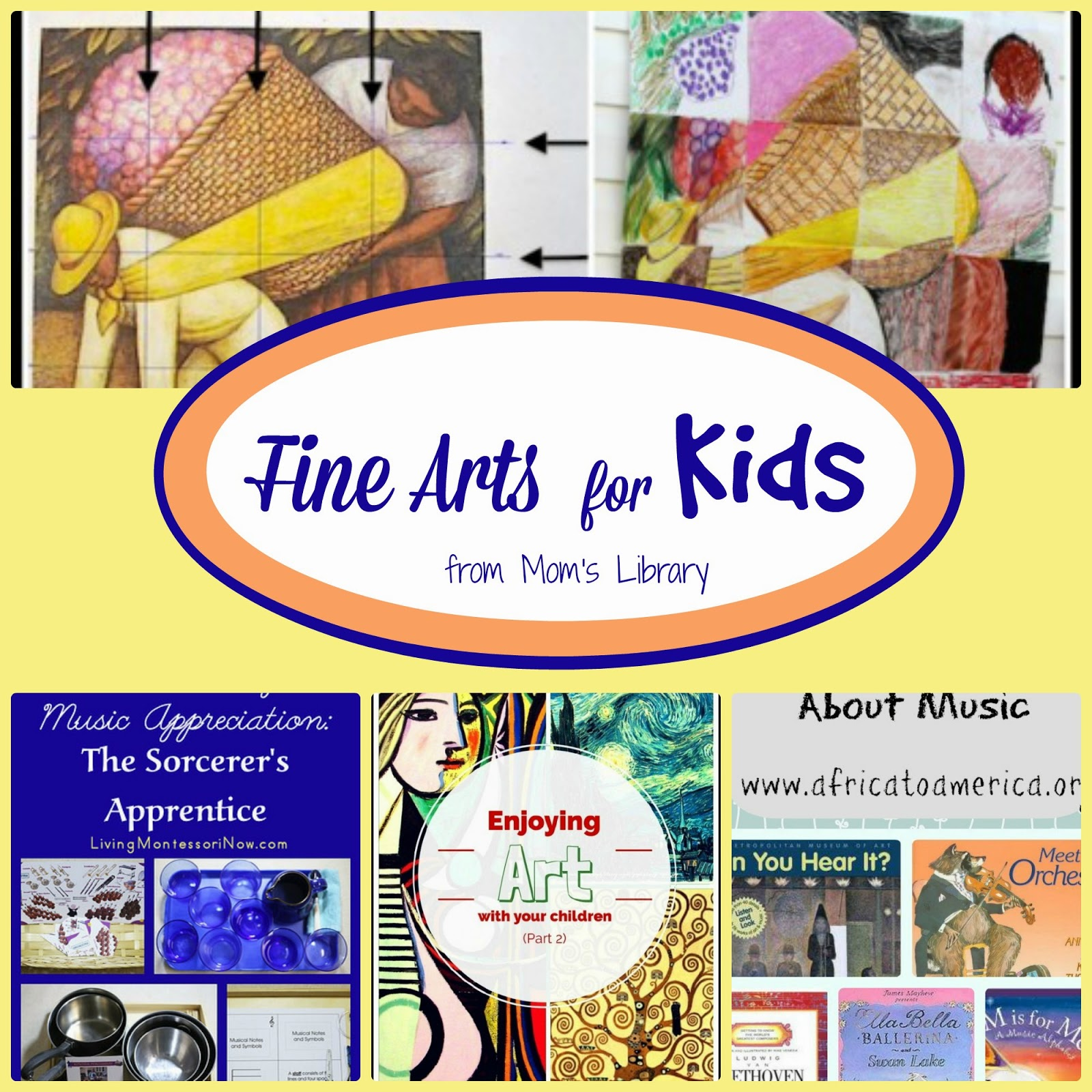 Fine Arts for Kids at Mom's Library