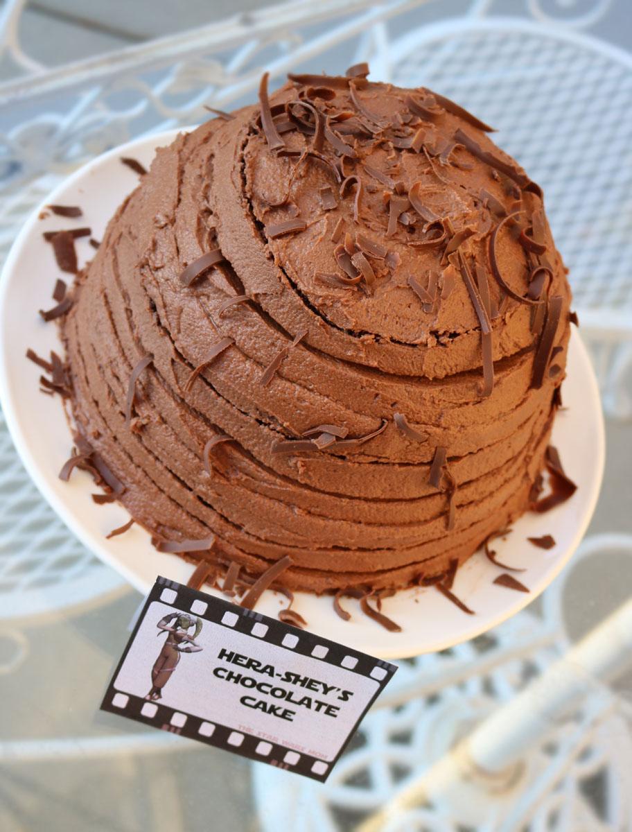 Star Wars Rebels Hera Shey S Italian Chocolate Cake Recipe The Barely Italian