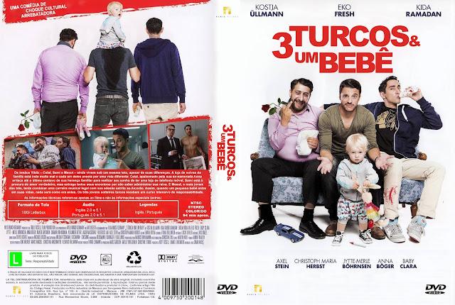 Capa DVD 3 Turcos E Um Bebê