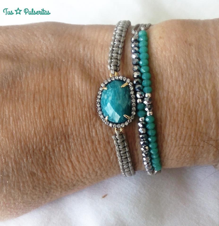 Tus pulseritas pulseras piedras naturales y zirconitas for Piedras naturales