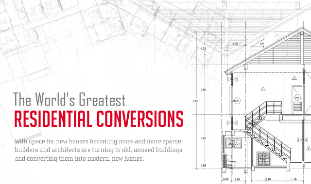 The World's Greatest Residential Conversions