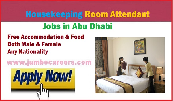 Available jobs in Gulf countries, Hotel / Restaurant jobs in Abu Dhabi,