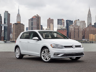 2018 VW Golf  - 2018 voitures les moins chères
