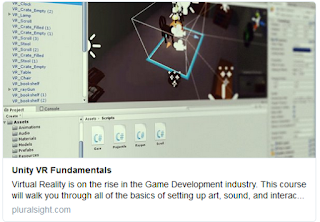 https://www.pluralsight.com/courses/unity-vr-fundamentals