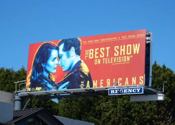 Americans season 4 Emmy FYC billboard