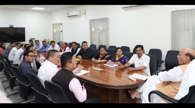 FIGA takes up Gorkha issues with Union Minister Rajnath