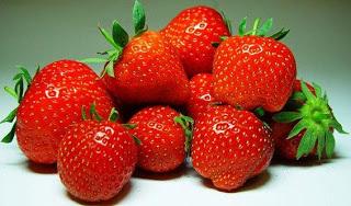 Foto de fresas en cantidad