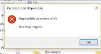 Accesso Negato in Windows: modificare permessi su file e cartelle