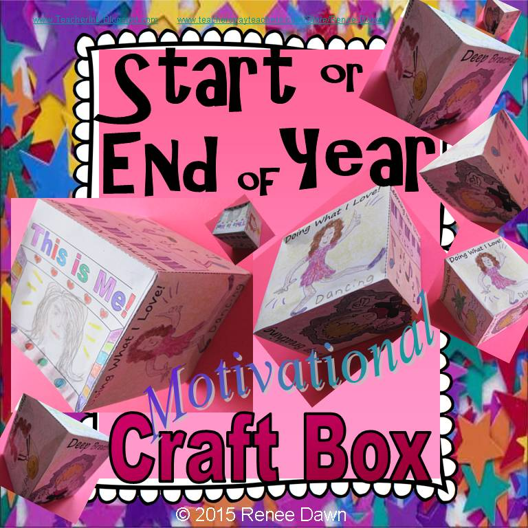 Start or End of the Year Craft Box