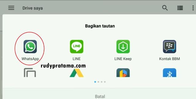 Cara Mengirim Aplikasi Dari WhatsApp