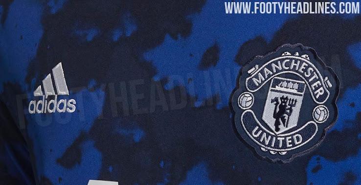 8a65e995b Garish  Adidas x Parley Manchester United 19-20 Pre-Match Shirt Leaked