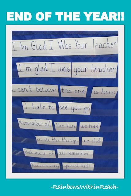 photo of: End of School Rhyme, Teacher Appreciation Rhyme