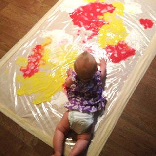 Pintura para bebés