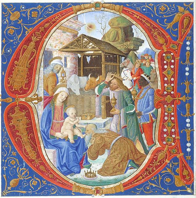 Heiligen Drei Könige Gaben