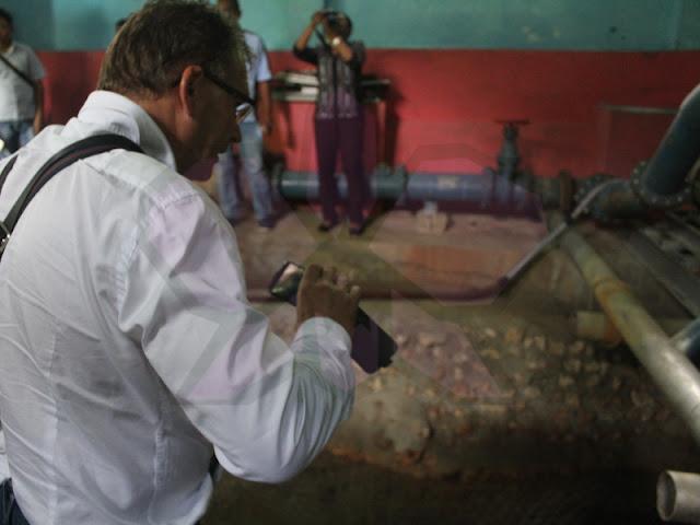 Engeldot Water Kunjungi Sumber Mata Air di Tanimbar