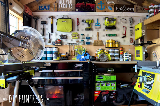 9 Tips For Organizing Your Workshop