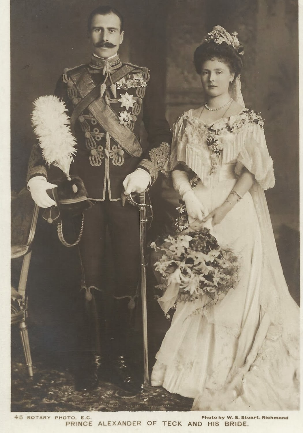 Wedding Photography Athlone: Royal Musings: Alice Of Albany Marries Prince Alexander Of
