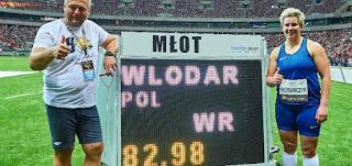 ATLETISMO - La polaca Wlodarczyk no para de mejorar su récord mundial en el lanzamiento de martillo