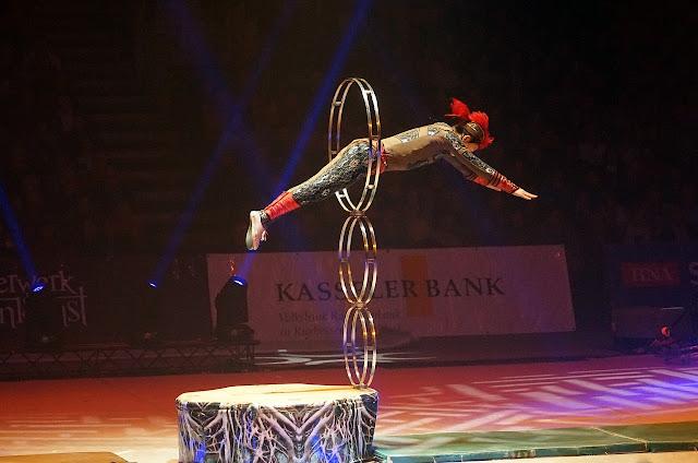 Senam Akrobatik (Acrobatic Gymnastics)