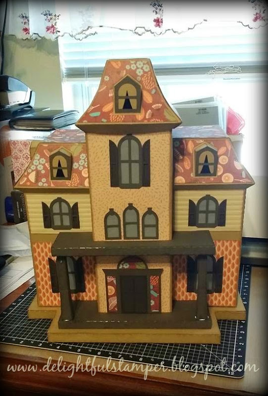 Paper, Houses, Cameo... What a combination!!!