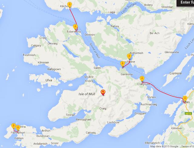 Cómo llegar a Isla de Mull