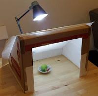 luz para una foto