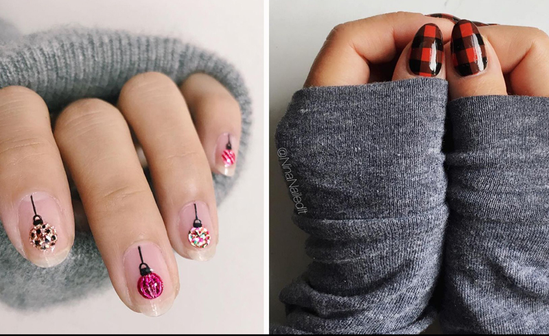 15 Holiday Nail Art Ideas To Copy Right Now