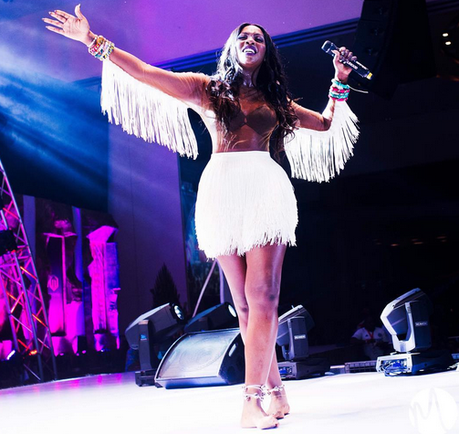 All the ways Tiwa Savage looked fabulous at her 3 Thrones concert (photos)