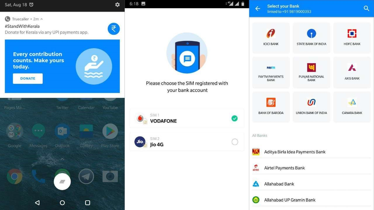 how you can donate via truecaller