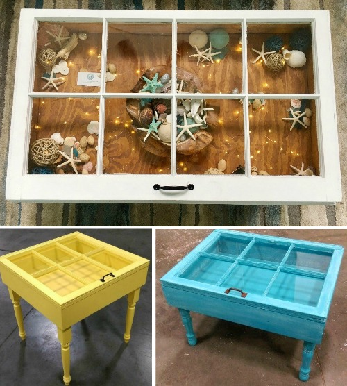 Handmade Window Tables