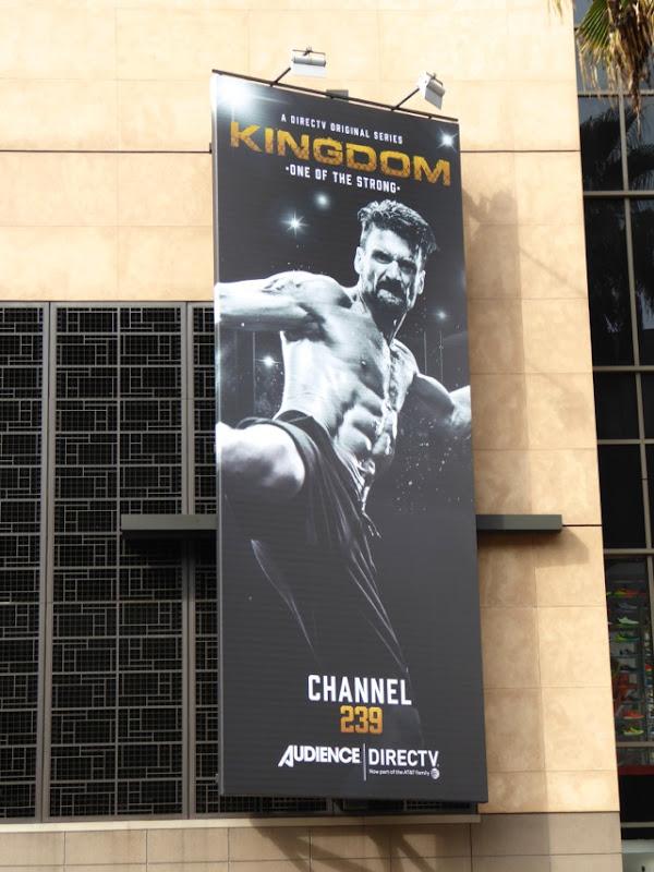 Kingdom season 2 Frank Grillo billboard