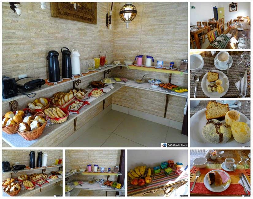 Café da manhã na Pousada Solar das Gerais: hospedagem em Tiradentes