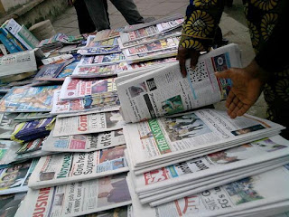 Latest Nigeria Newspapers Headlines for Today, Thursday, June 1, 2017