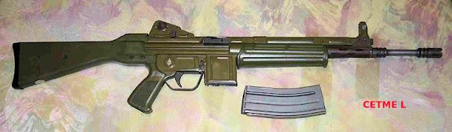 """El fusil de asalto """"CETME"""" (Foto de Internet)"""