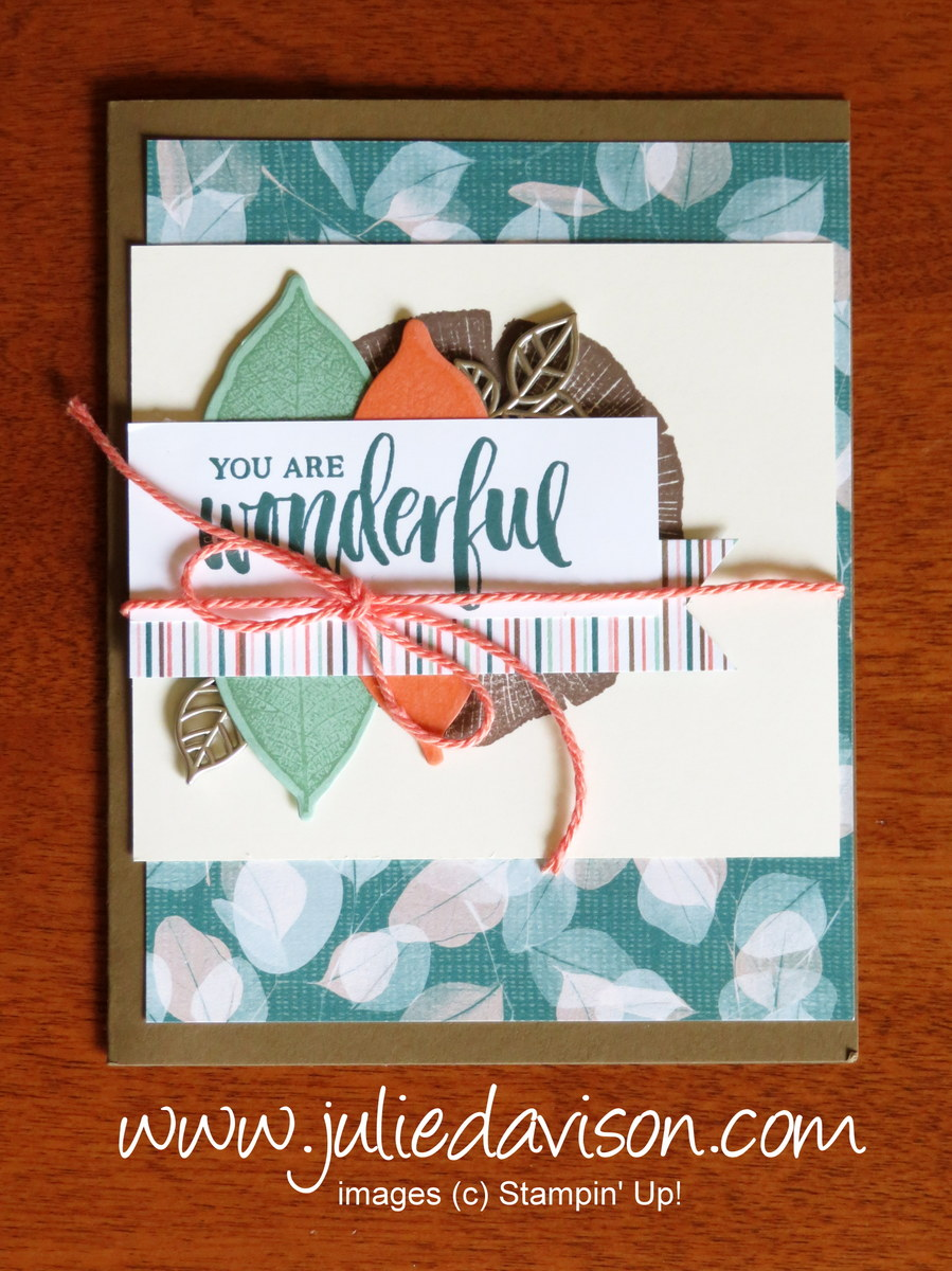 Julie's Stamping Spot -- Stampin' Up! Project Ideas by Julie