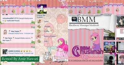 BBM MOD TEMA MUSLIMAH BASE V2.12.0.9 APK