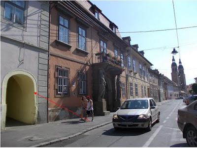 Gangul din strada Mitropoliei