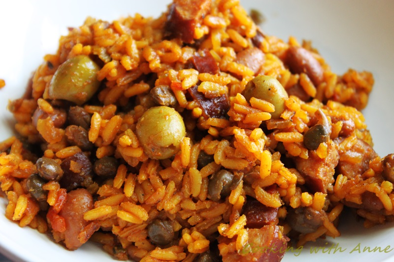Cooking With Anne Puerto Rican Rice And Beans