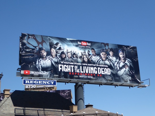 Fight of the Living Dead Experiment 88 billboard