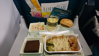 Vietnam Airlines Dinner in the sky