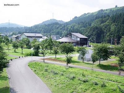 Casa no residencial de arquitectura contemporánea japonesa