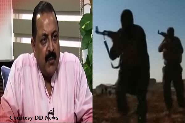 मोदी सरकार की वजह से आतंकवादी और आतंकी संगठन बहुत प्रेशर में हैं: जीतेन्द्र सिंह