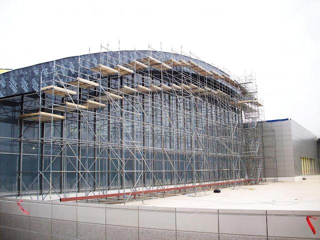 Alat untuk menunjang pembangunan gedung