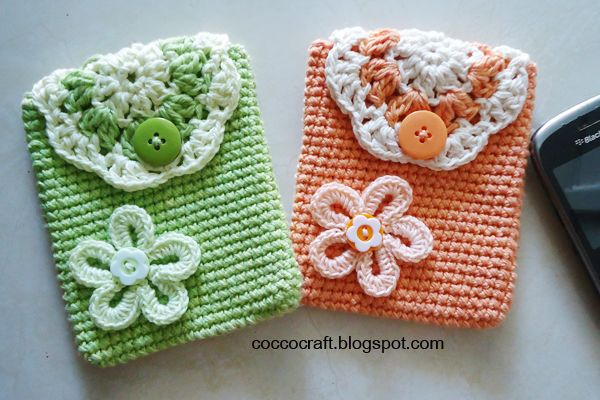 Mobile Pouch Crochet Pattern Simple And Easy