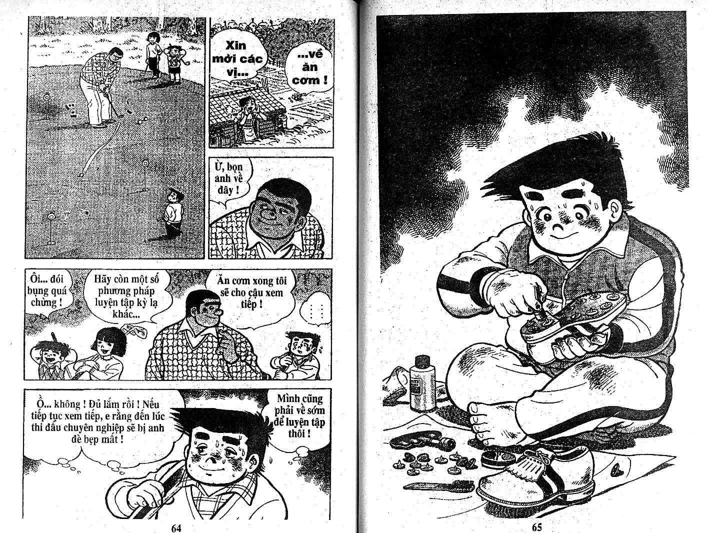 Ashita Tenki ni Naare chapter 21 trang 31